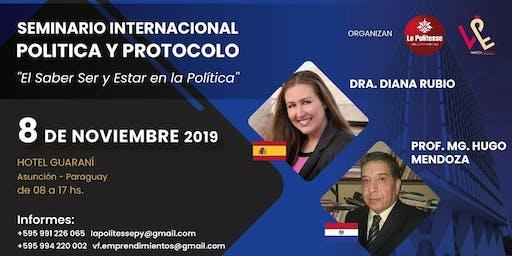 SEMINARIO INTERNACIONAL DE POLITICA Y PROTOCOLO