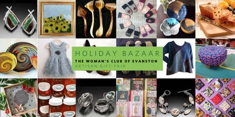 Woman's Club of Evanston Holiday Bazaar 2019 Tickets tickets