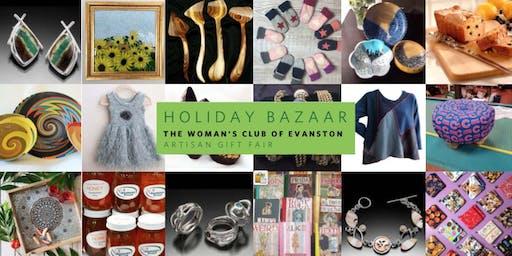 Woman's Club of Evanston Holiday Bazaar 2019 Tickets