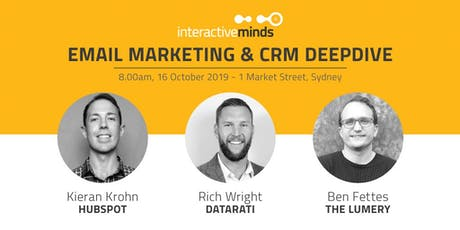 Email Marketing + CRM: Trends & Opportunities tickets