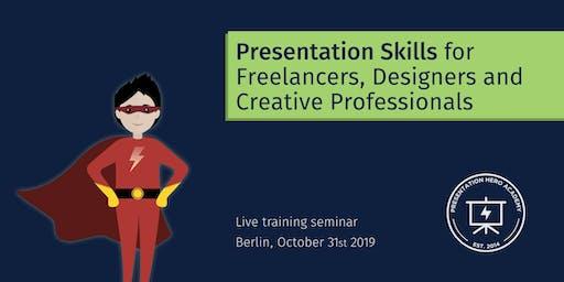Presentation Skills for Freelancers, Designers and Creative Pros - Berlin