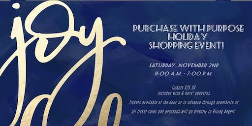 Purchase with Purpose Holiday Shopping Event!