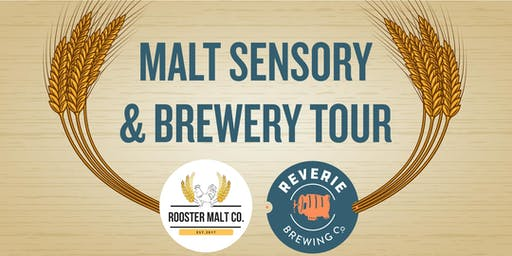 Reverie Brewing Co - Malt Sensory and Brewery Tour