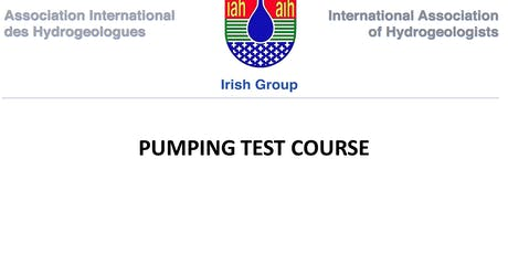 IAH Pumping Test Course tickets