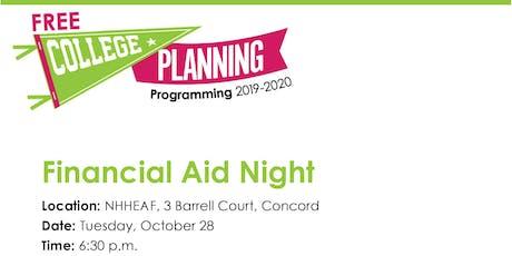 Homeschooler Financial Aid Night tickets