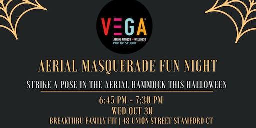 Join VEGA Aerial Fitness + Wellness| MASQUERADE FUN NIGHT!