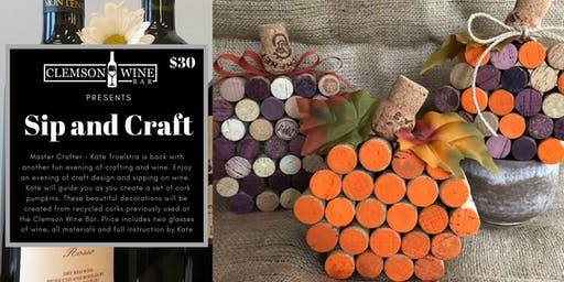 Sip and Craft Cork Event