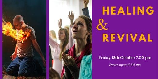 HEALING & REVIVAL MEETING - Friday Evening - Froncysyllte Community Centre, Llangollen