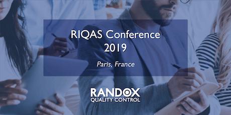 Conférence RIQAS 2019 billets