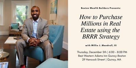 How to Purchase Millions in Real Estate using the BRRR Strategy tickets