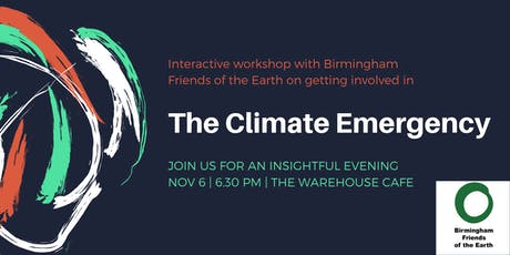 Climate change event: Climate Emergency, what next? tickets