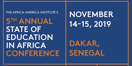 AAI's 5th Annual State of Education in Africa (SOE) Conference  billets