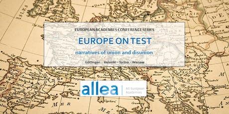 Convegno internazionale in collaborazione con ALLEA biglietti