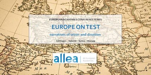 Convegno internazionale in collaborazione con ALLEA
