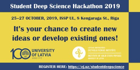 Student Deep Science Hackathon 2019 tickets