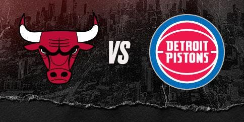 Flames in the City: Chicago Bulls vs. Detroit Pistons 11/1/2019