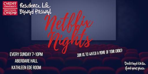 North Campus Netflix Nights | Nosweithiau Netflix Campws y Gogledd