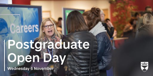 Postgraduate Open Day - November 2019