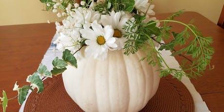 Pumpkin Vase Centerpiece Make & Take tickets