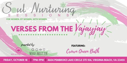 Soul Nurturing Sessions Vol. 4: Verses from the Vajayjay