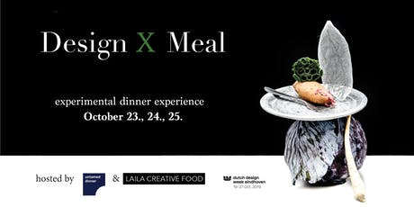 DESIGN X MEAL tickets