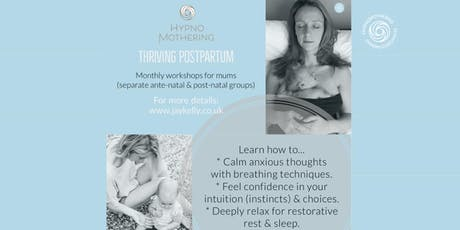 HypnoMothering - thriving postpartum (ante-natal workshop) tickets