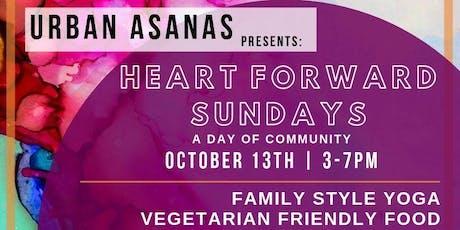 Heart Forward Sundays with Urban Asanas tickets