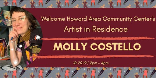 HACC Artist in Residence Welcome