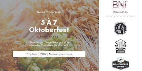 5 A 7 BNI Oktoberfest billets