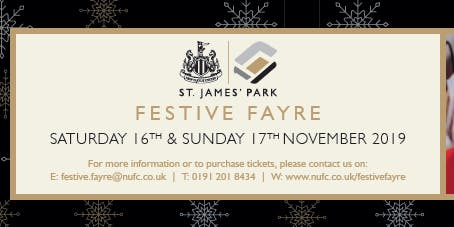 St James' Park Festive Fayre Party Box Package