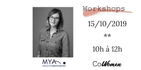 Workshop #30 : Se rendre visible grâce au SEO billets