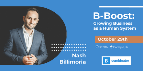 B-Boost: Growing Business as a Human System by Nash Billimoria tickets