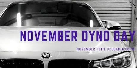 November Dyno Day tickets