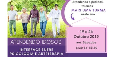 """Minicurso """"ATENDENDO IDOSOS - Interface entre Psicologia e Arteterapia"""""""