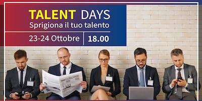 TALENT DAYS 2019 - Sprigiona il tuo talento ed entra in azienda!