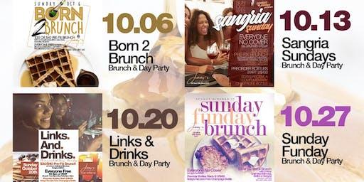 Sunday 2hr Open Bar Brunch & Day Party, Hookah, Bdays Free, Live Music