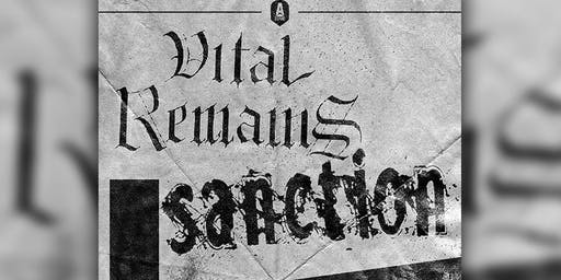 Vital Remains, Sanction