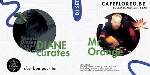 URBAN w/ Mr Orange, DIANE curates at Café Floréo