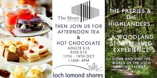 Faeries & Highlanders Afternoon Tea & Hot Chocolate
