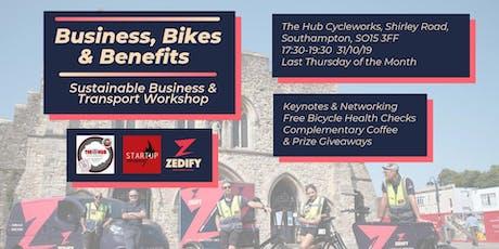 Business, Bikes & Benefits tickets