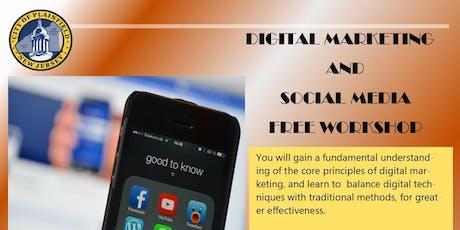 Digital Marketing & Social Media tickets