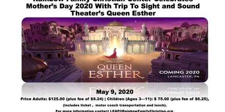 RFCC Queen Esther - Sight & Sound Celebration tickets