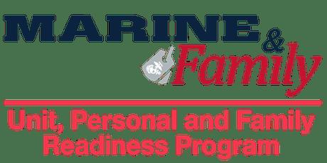 Readiness Program Training tickets