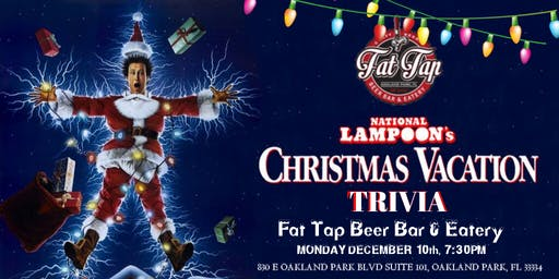 National Lampoon's Christmas Vacation Trivia at Fat Tap Beer Bar & Eatery