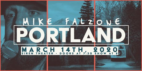 Mike Falzone LIVE in Portland tickets