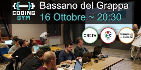 Coding Gym Bassano del Grappa - Ottobre 2019 biglietti
