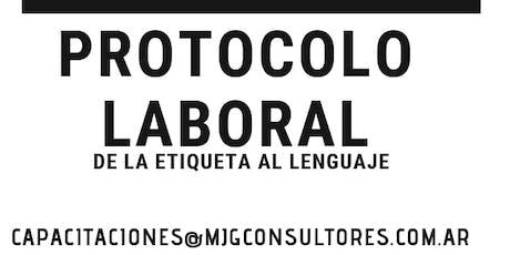 Protocolo laboral  entradas
