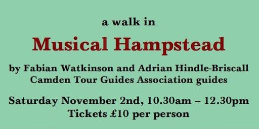 Guided walk: Musical Hampstead