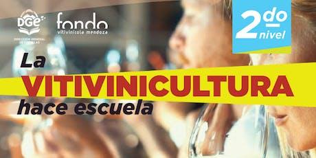 CURSO LA CULTURA DE LA VID Y EL VINO - 2° NIVEL EN LA ENOTECA entradas