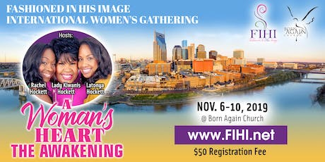 Fashioned In His Image International Women's Gathering tickets